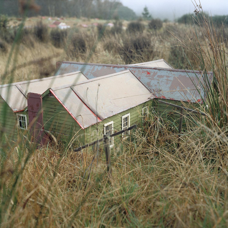 Caroline McQuarrie.  Waiuta Model Village #3 Boarding house,  2013, from  Waiuta
