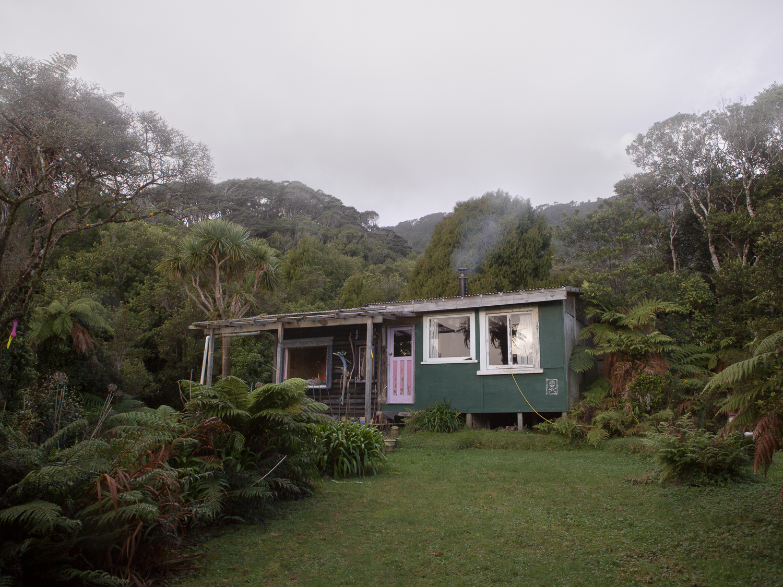 Julia Johnston.  Robbie's House , 9 Mile, from  Coast Roaders