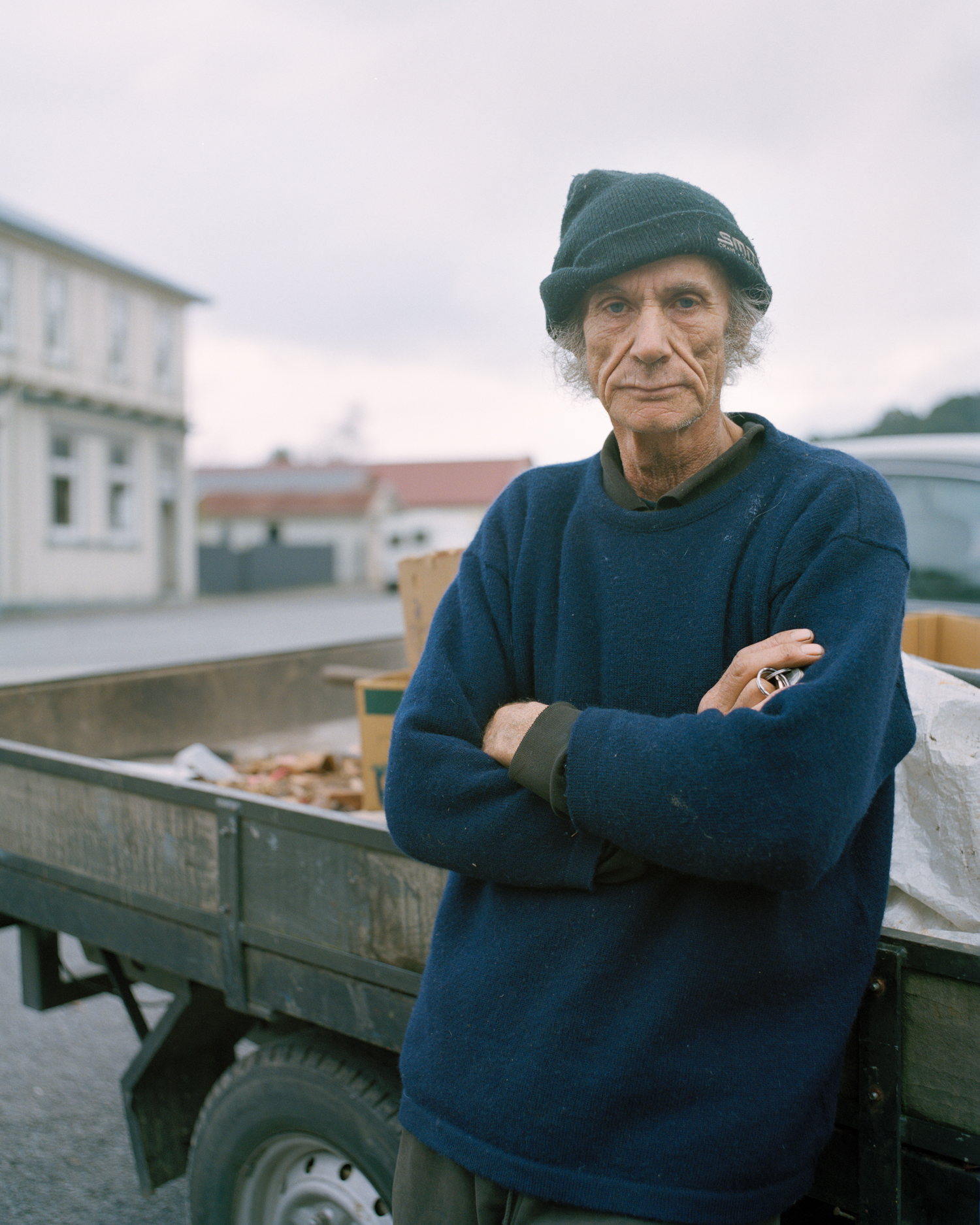 Mitchell Bright,  Dave , Reefton, 2015, from  Within the Land