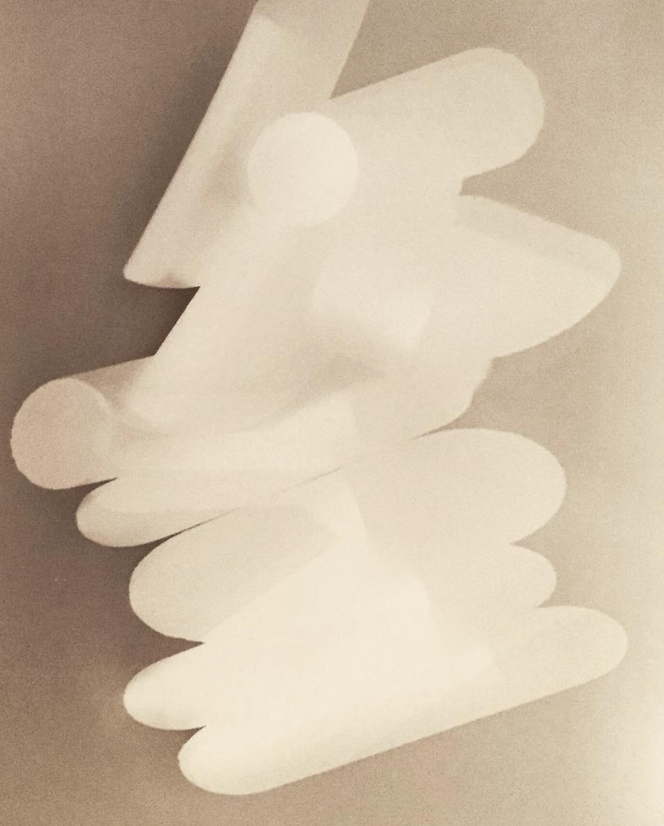 Poppy Lekner,  Geometric Form Study , 2017
