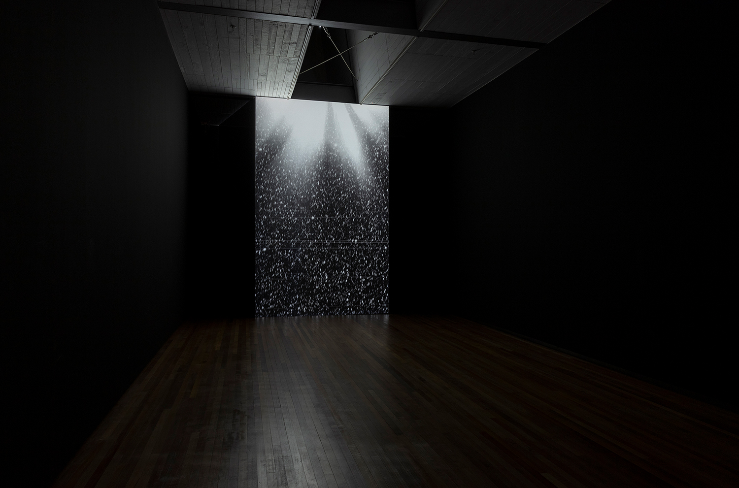 Semiconductor, Black Rain, 2008, The Technological Sublime. (Image, courtesy City Gallery)