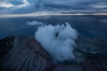 Mark Purdom: Untitled (Whakaari/White Island)