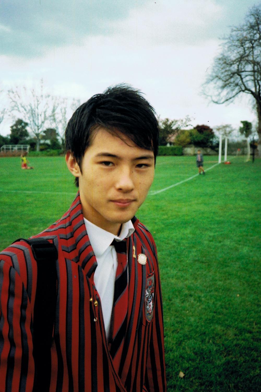 Yosuke, after the Lindisfarne fixture, 2016
