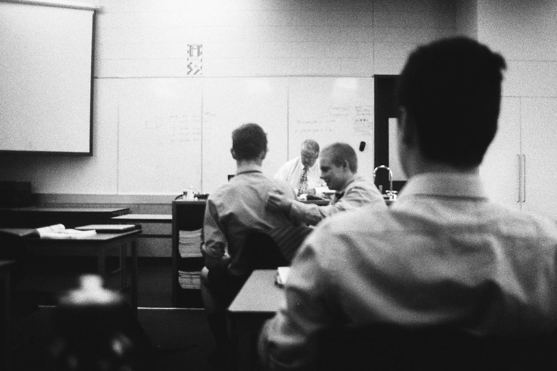 Sam, Max, Seb, in RFD's biology class, 2016