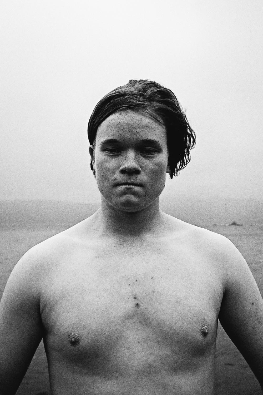 Keegan Adams at Seatoun Wharf, 2017