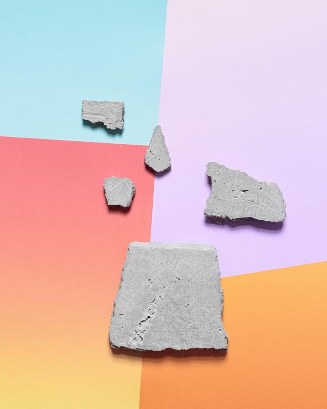 Vivian Cooper Smith,  Concrete Composition, (Series 1) #3