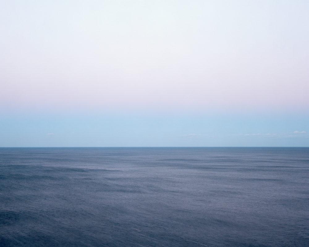 Harry Culy  Untitled Seascape #10, 2016  4x5 colour negative film, pigment prints on archival Ilford photorag paper.