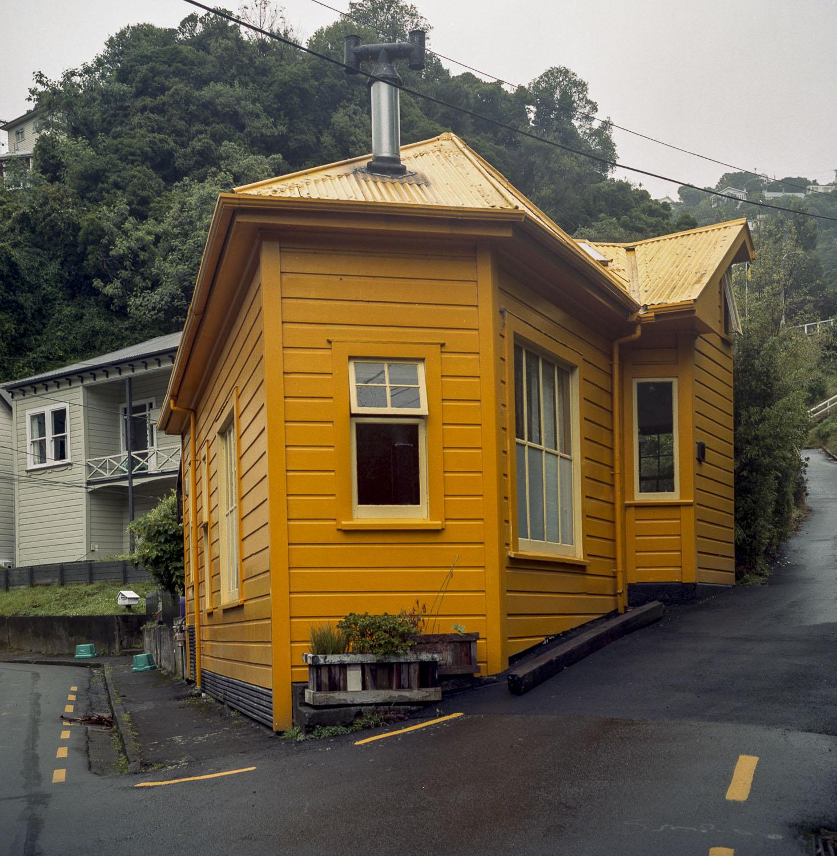 Orange House, Te Aro Valley