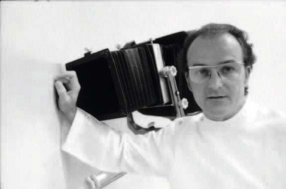 John Fields in his darkroom at Auckland Medical School, January 1975. Photo: Rhondda Bosworth.