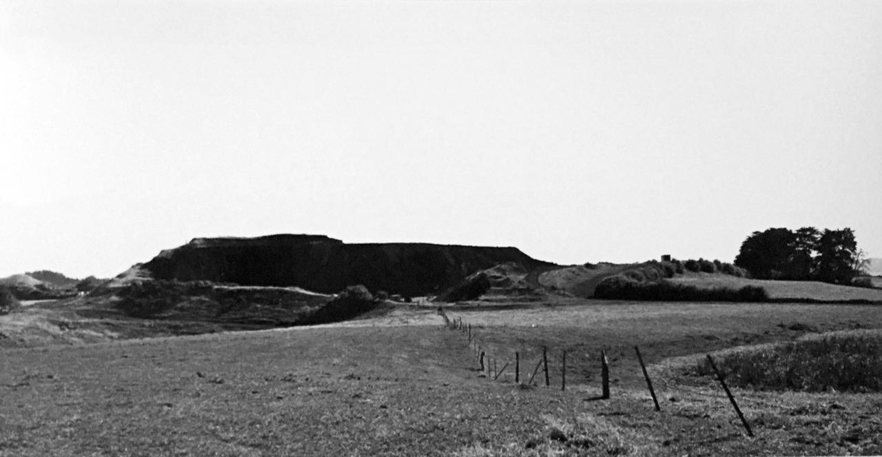 John Fields:  Ihumātao Rd 16 March 1974 View North
