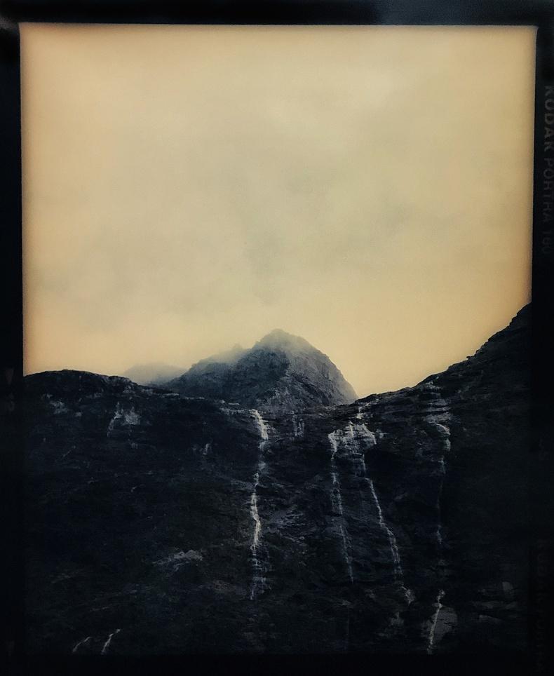 Derek Henderson   Gulliver Peak, Southland, New Zealand,  2019. Chromogenic print 1200 × 1000mm