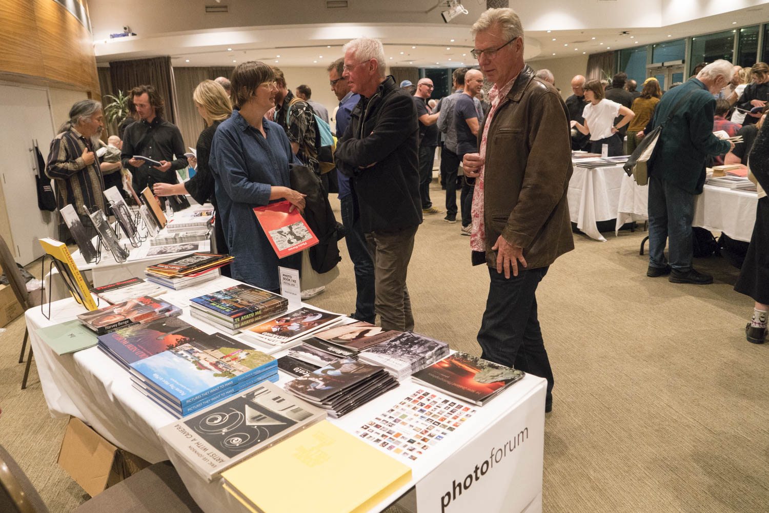 Geoffrey H. Short,  Photobook NZ Book fair 2018, Wellington.
