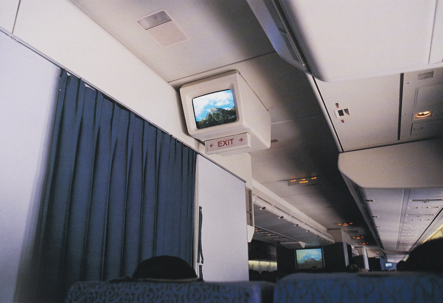 Harvey Benge   Over Tasman Sea , August 1996. From  Not Here - Not There, Photographs by Harvey Benge , Dewi Lewis and PhotoForum, 1998