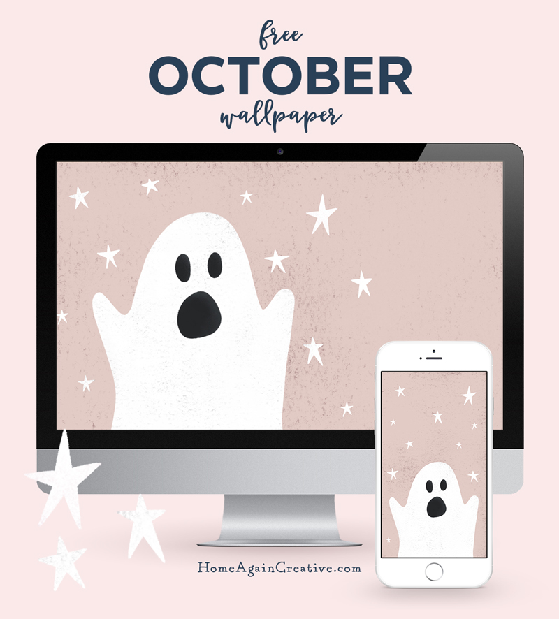 Free October Desktop Wallpaper  |  Home Again Creative