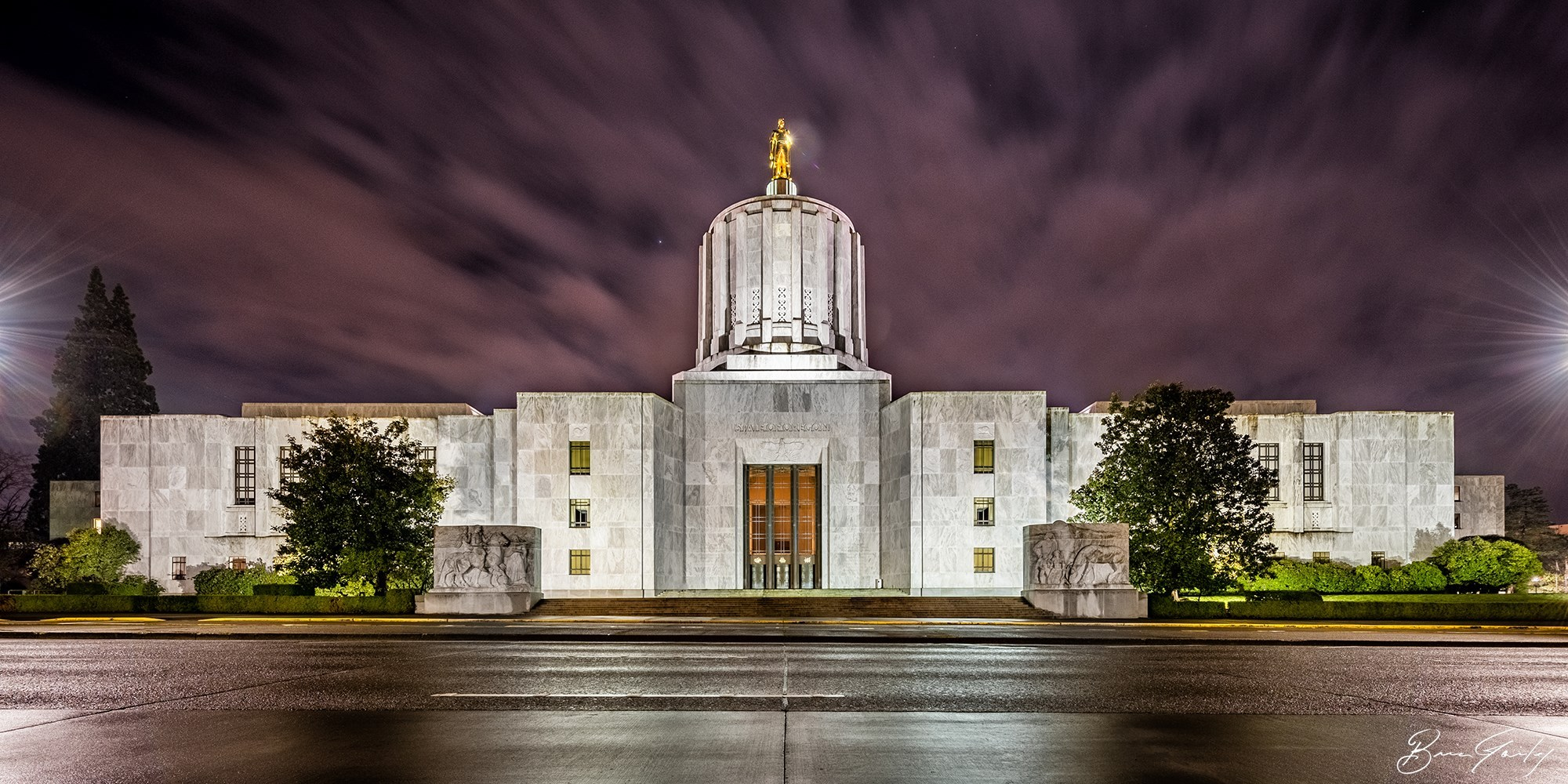 Oregon State Capitol,  Brian Gailey