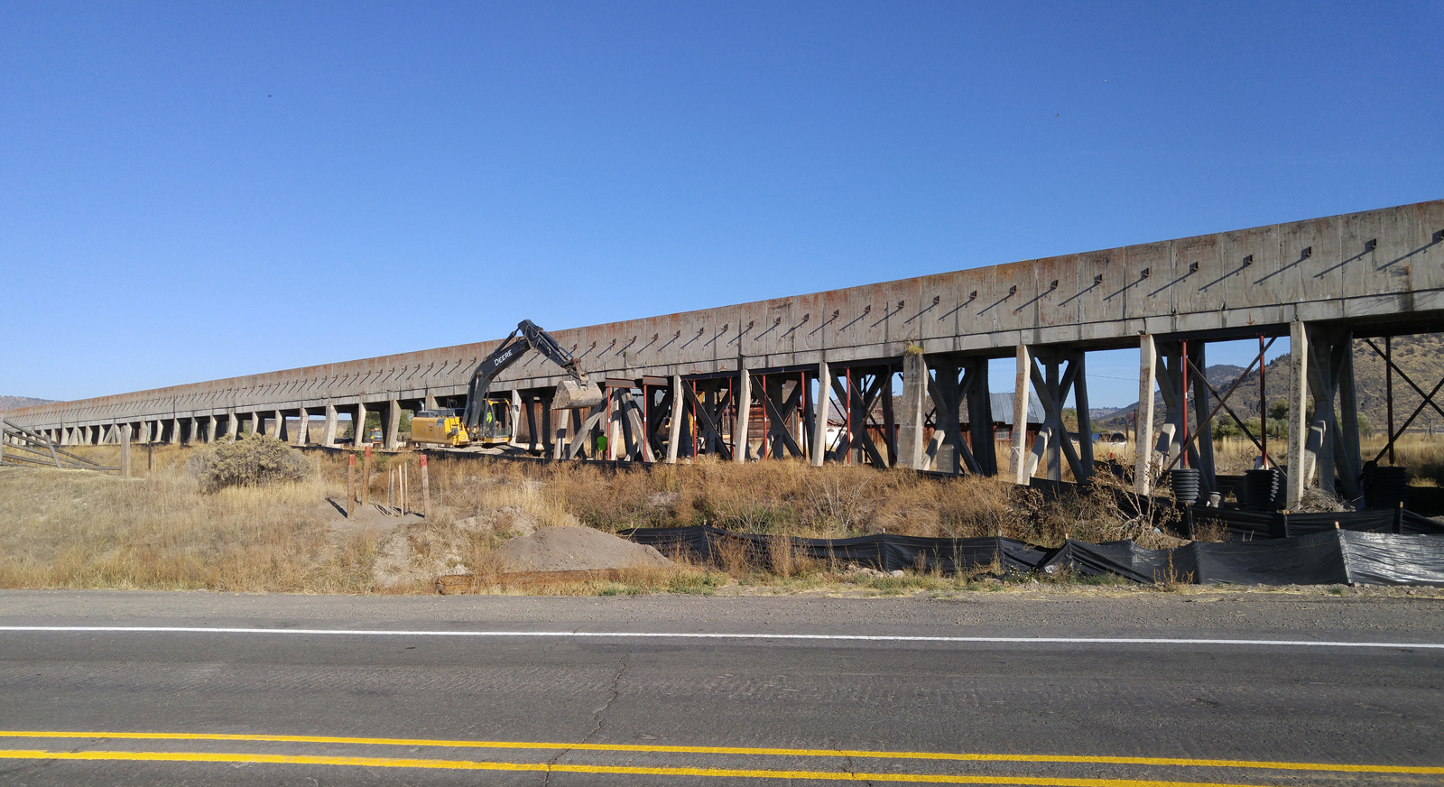 A walking history tour of the C flume near Henley will be offered Saturday, Oct. 21, by the Klamath County Museum and the U.S. Bureau of Reclamation.