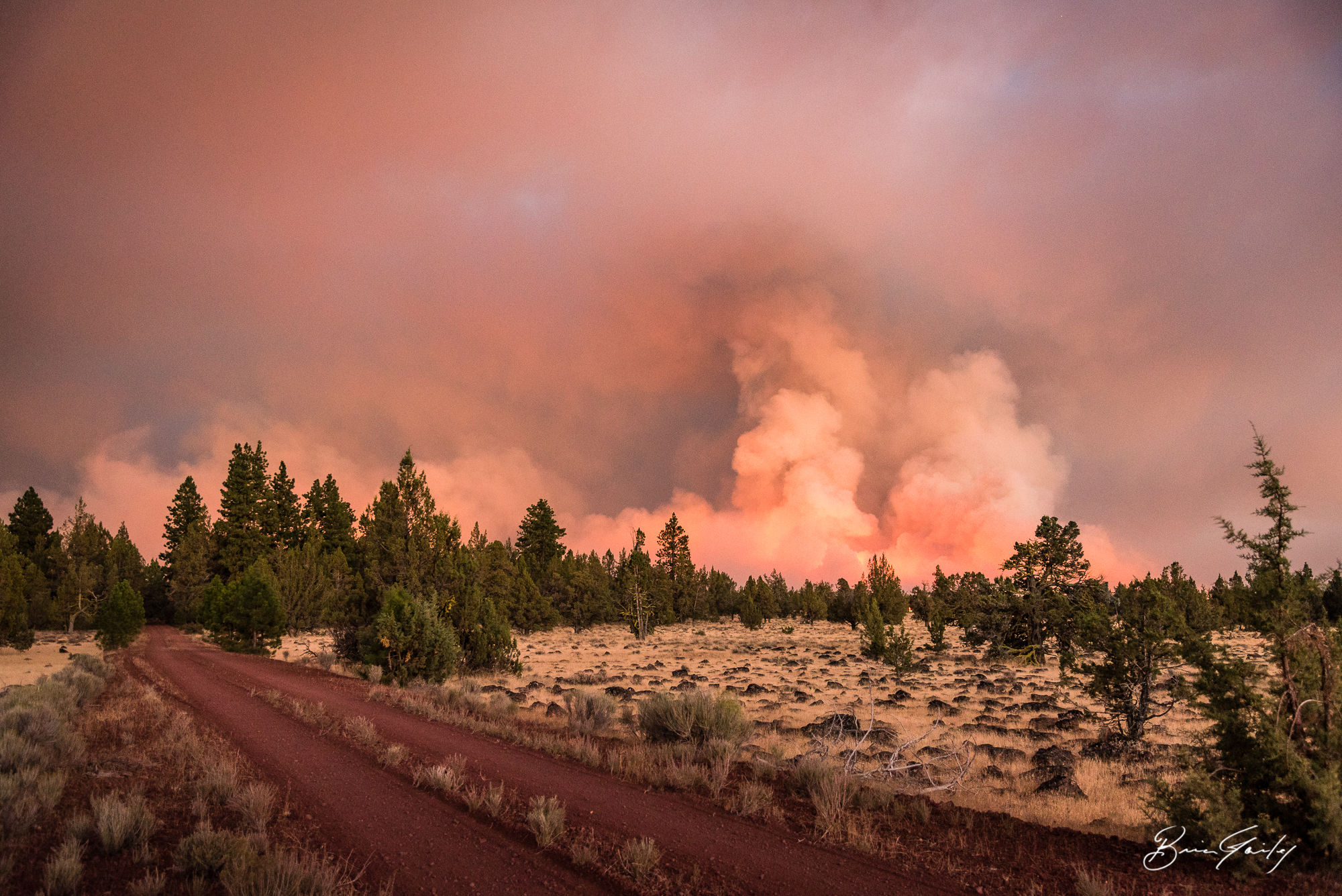 The 2017 Fire Season was a difficult season for local, state and federal resources. As of Oct. 20, 2017 the 2017 Fire Season in Klamath and Lake Counties has come to a close. File Photo of the Modoc July Complex. (Brian Gailey)