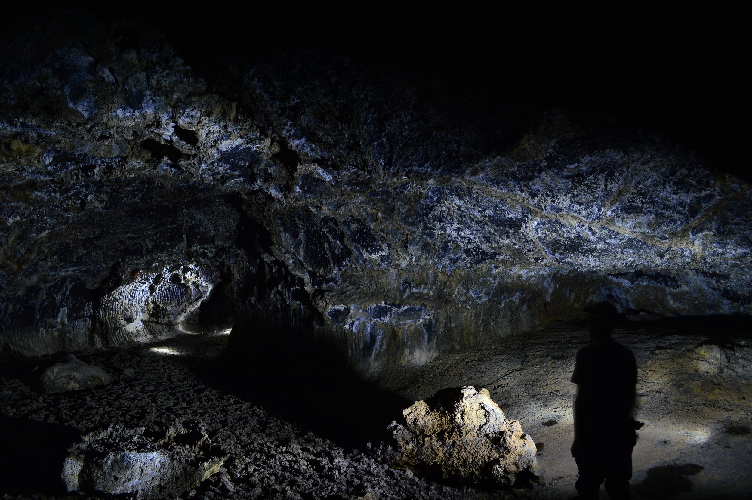 Shadowy Figures in Catacombs Cave. (J. Barden)