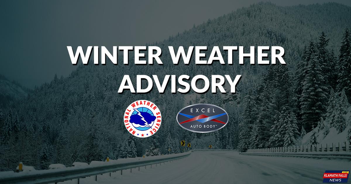 Winter Weather Advisory - November 1, 2017
