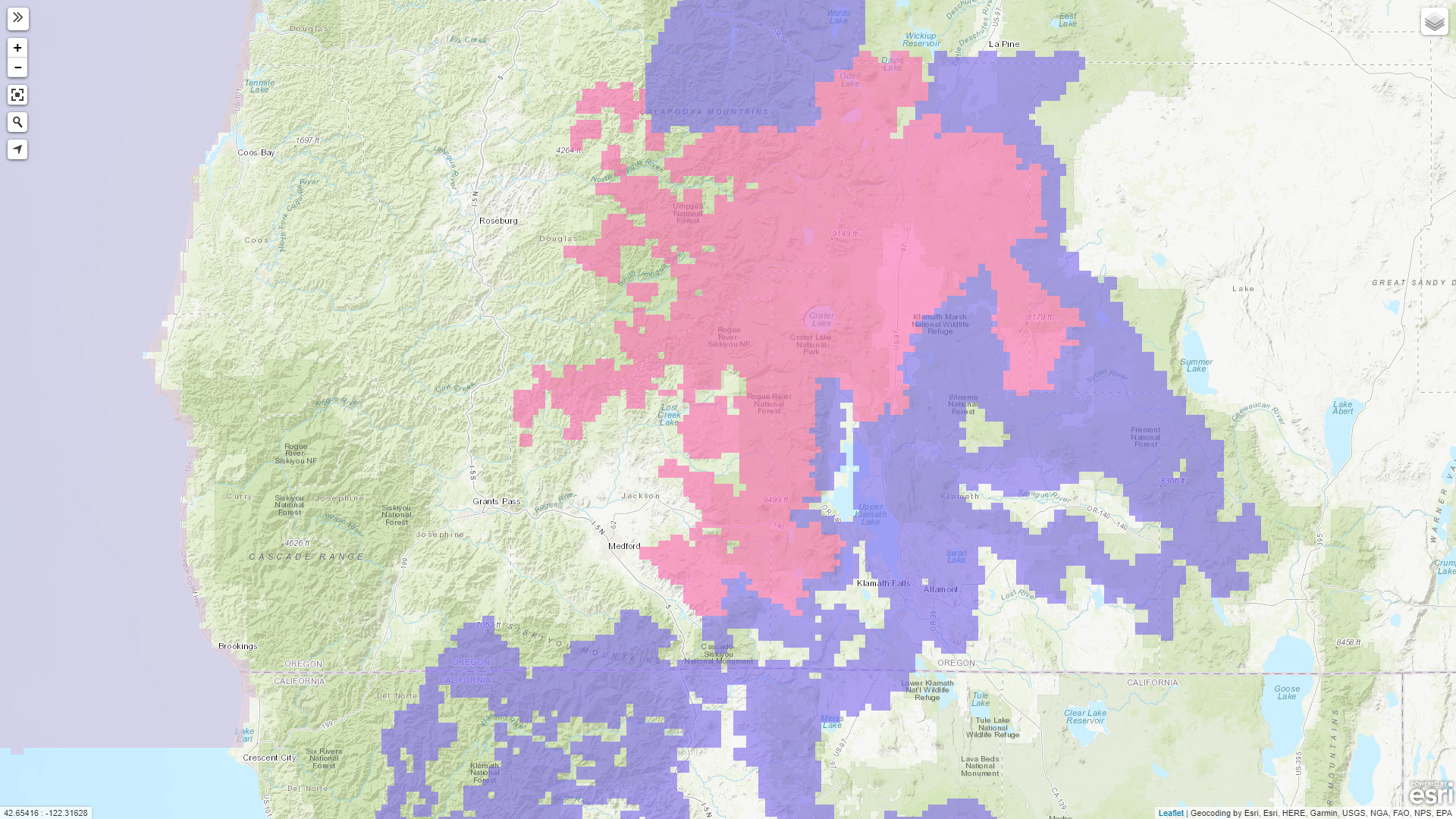 Winter Storm Warning and Winter Weather Advisory Map (Interactive Map: http://www.wrh.noaa.gov/map/# )