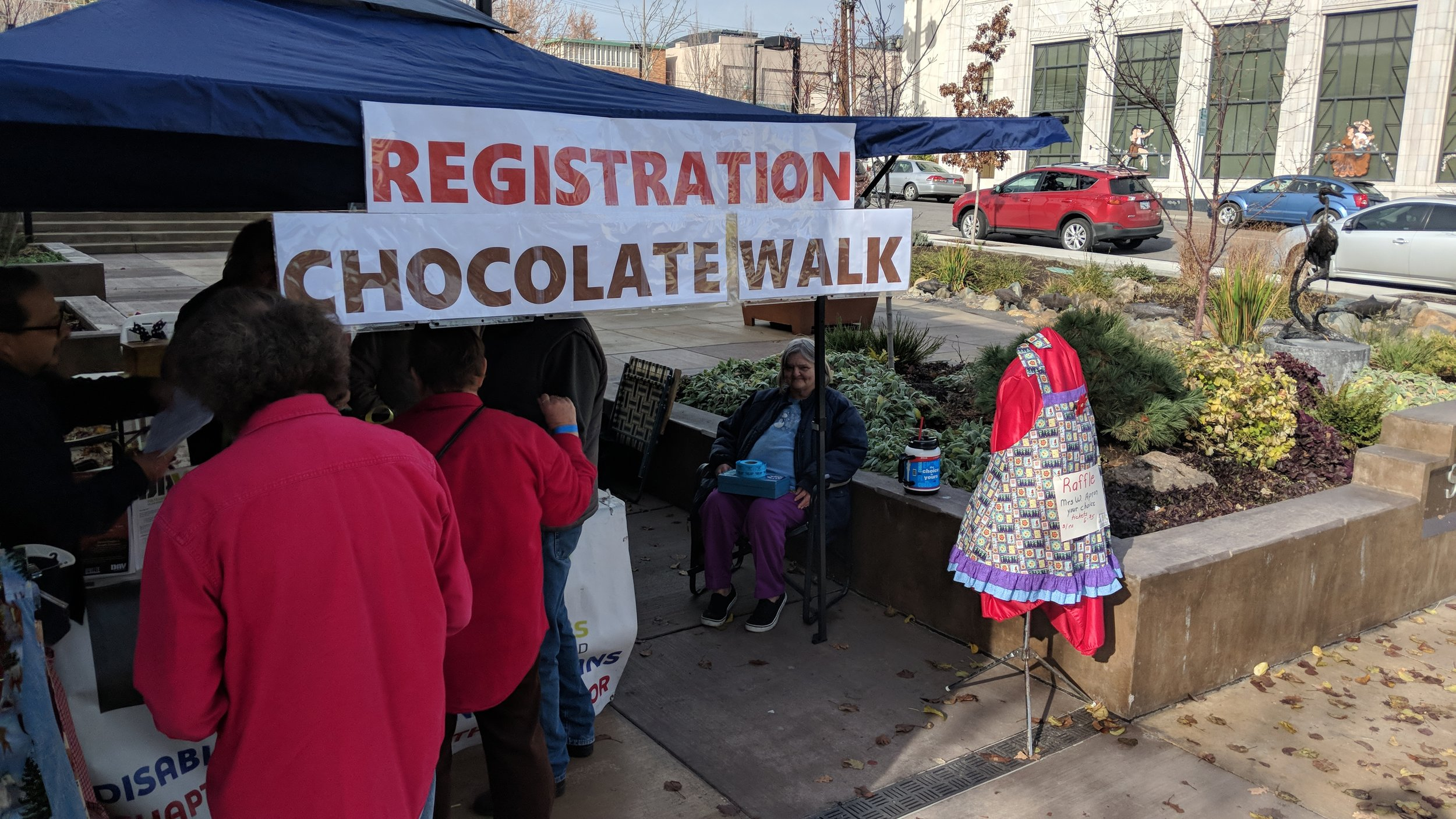 Chocolate Walk for Charity (Brian Gailey)
