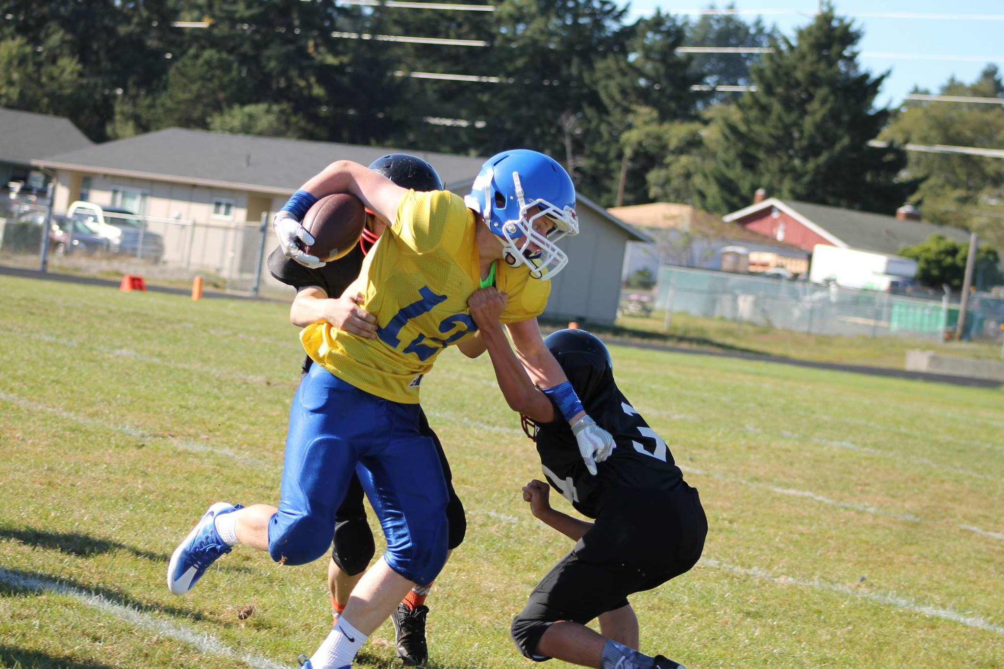 8th grader Camp Lacouture. Camp is a superior athlete from Suislaw Middle School in Florence. (Submitted Photo)