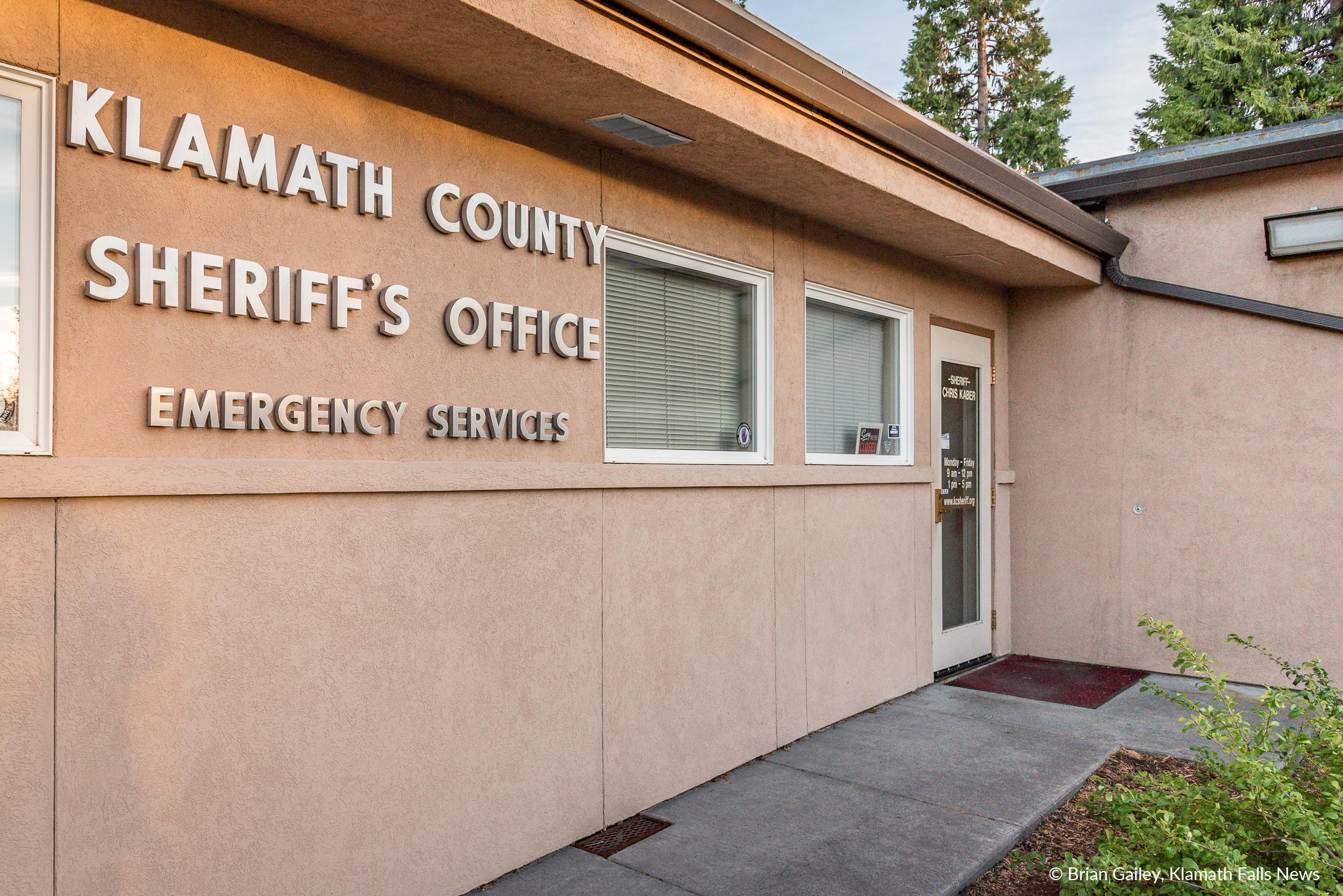 Klamath County Sheriff's Office, File Photo (Brian Gailey)