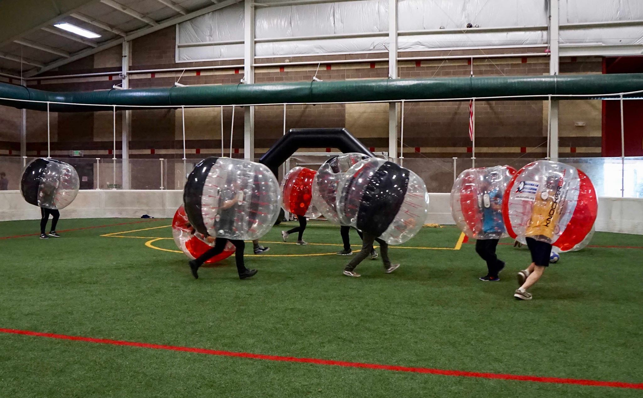 Knockerball at Mike's Fieldhouse. (facebook.com/mikesfieldhouse/)