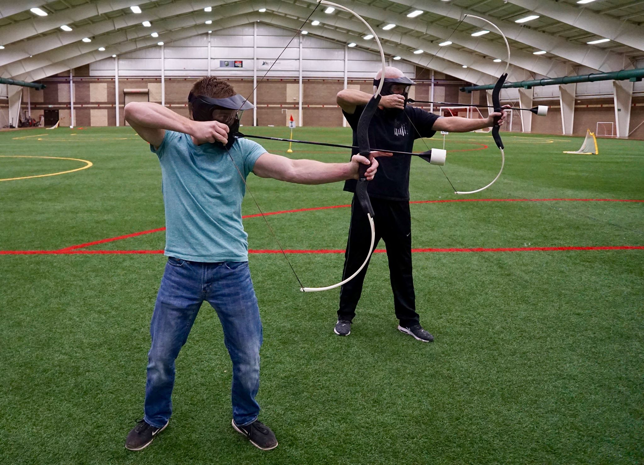 Archery Tag (https://www.facebook.com/mikesfieldhouse/