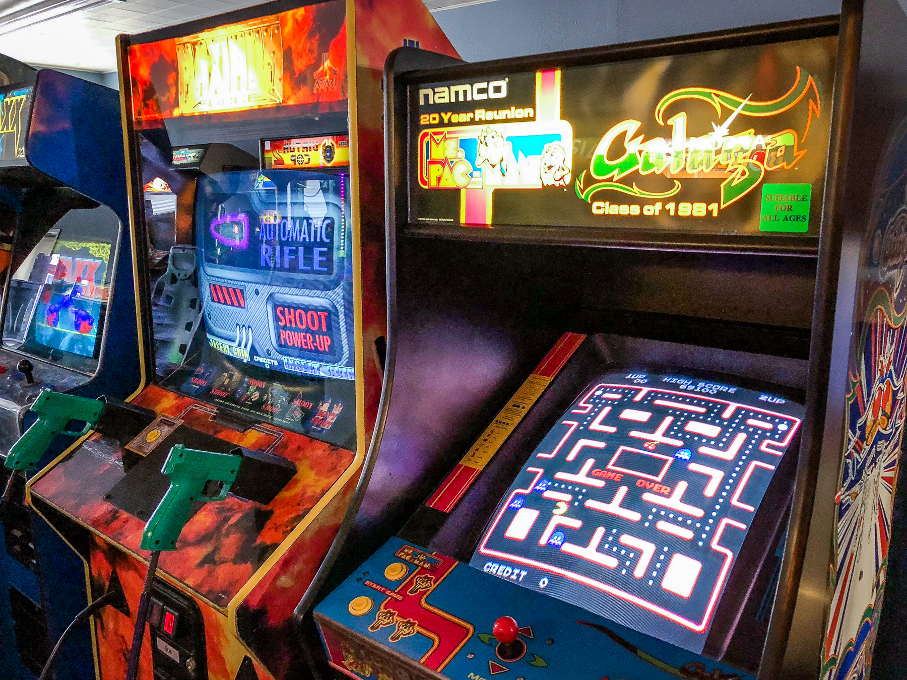 What once was old is now new again. The Game Works opens in Klamath Falls. (Brian Gailey)