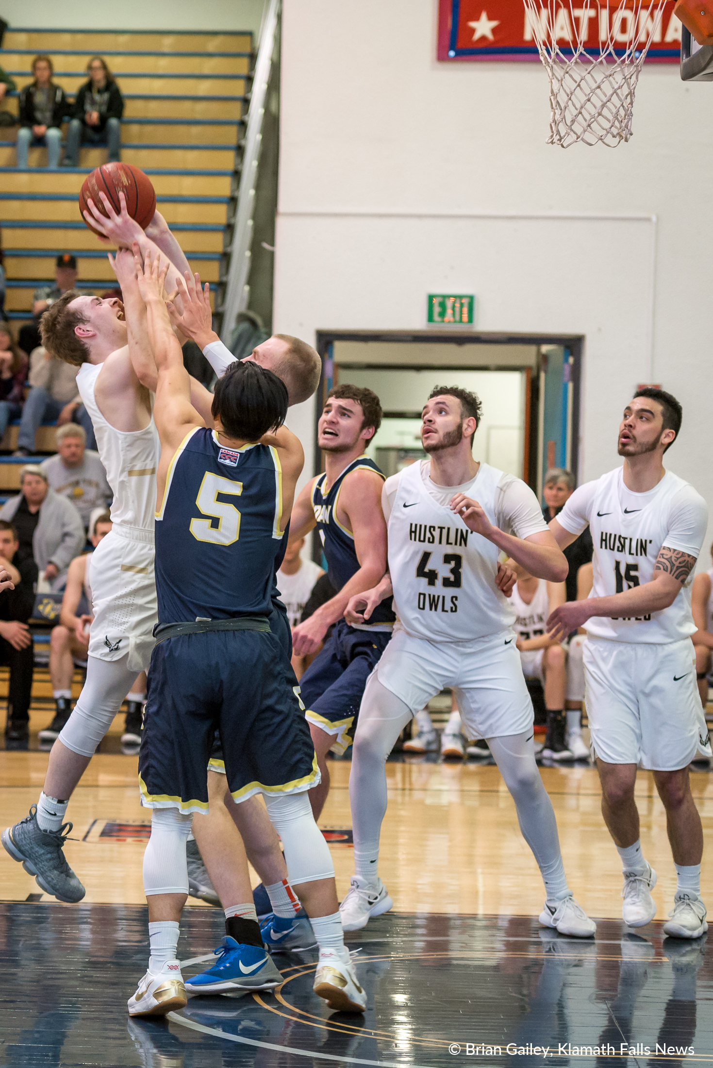 Oregon Tech is victorious against Corban in the Quarterfinals of the CCC Tournament.  They now move on to face Warner Pacific on Tuesday. Feb. 21, 2018. (Brian Gailey)
