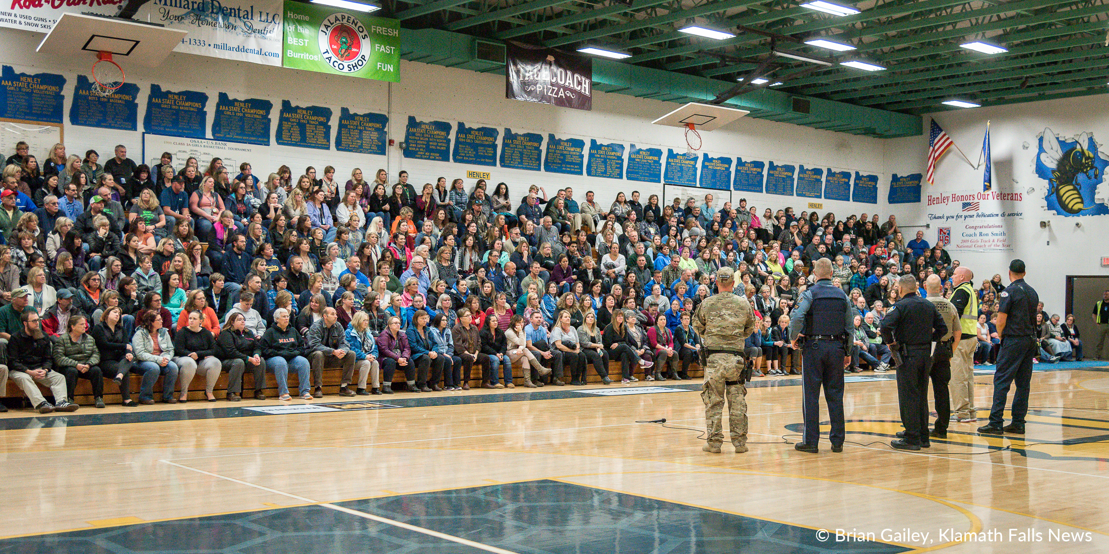 File Photo, Henley High School Assembly (Brian Gailey)