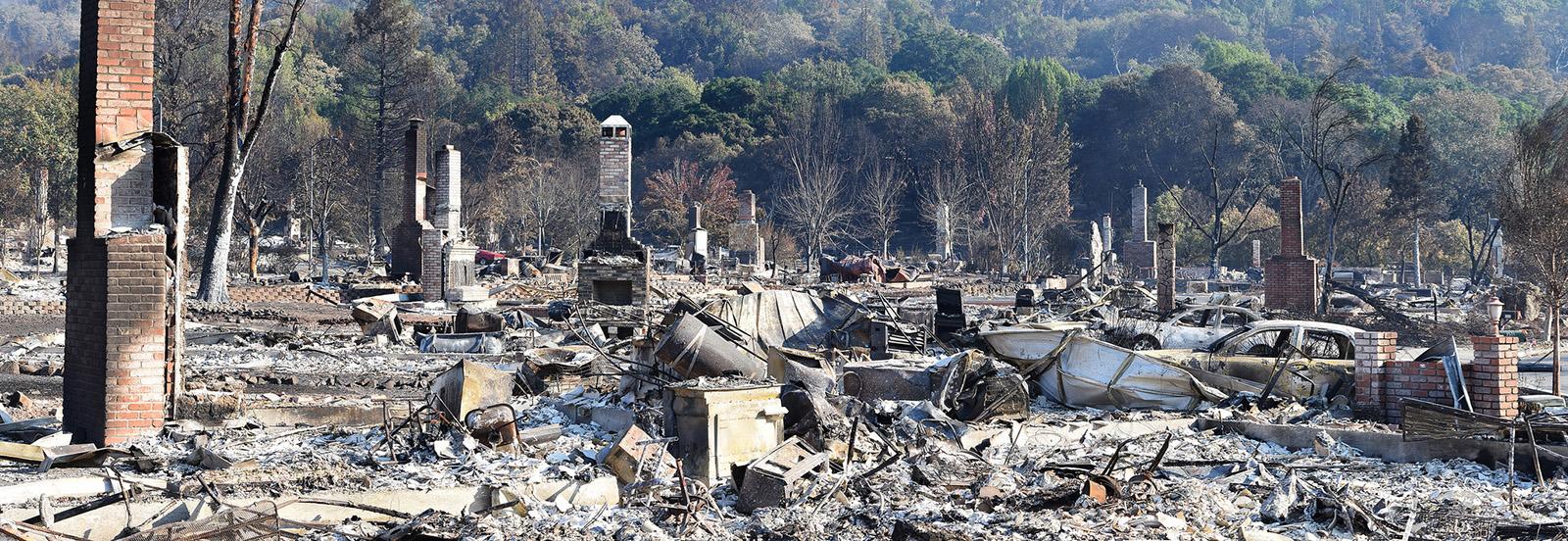 Santa Rosa Fires,  Flickr