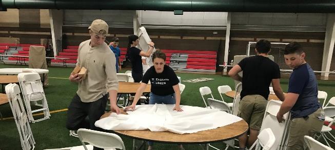 Students volunteer from Henley, Mazama and Klamath Union high schools to help Friends of the Children. (Image, Aurora Simpson, PhotoArt by Aurora)