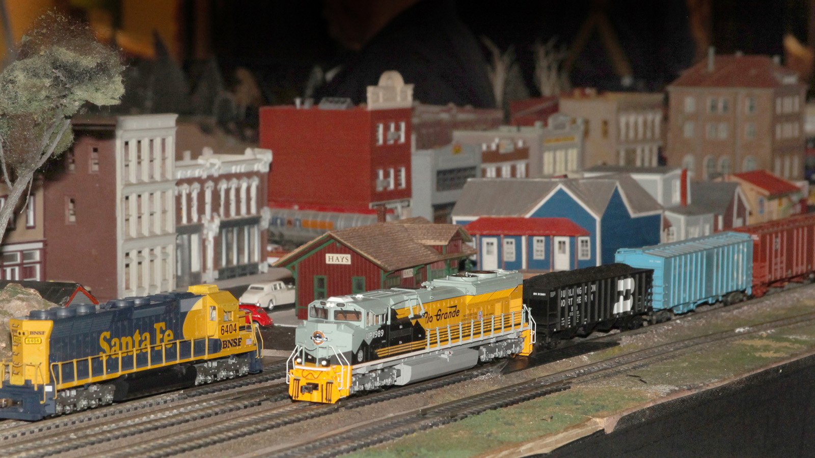 Model trains will be running this month at the Klamath County Museum. (Submitted Photo)