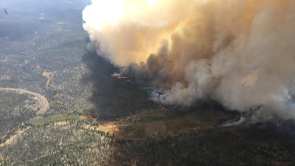 Watson Creek Fire (SCOFMP)