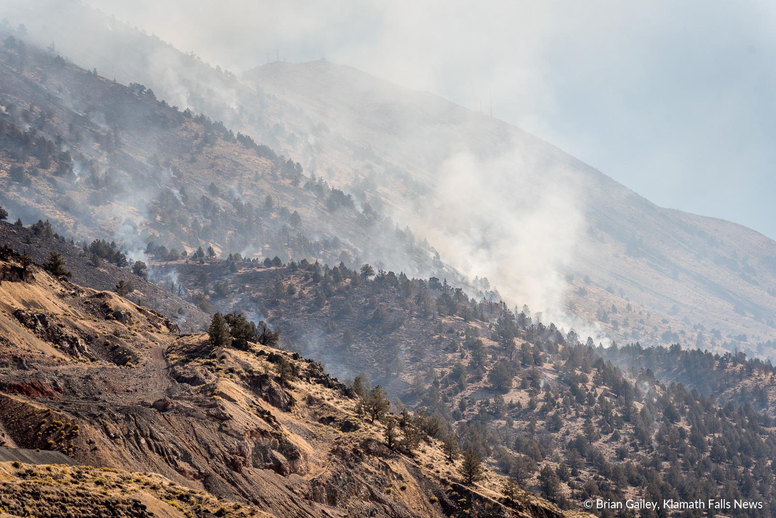 Stukel Fire. October 15, 2018 (Brian Gailey)