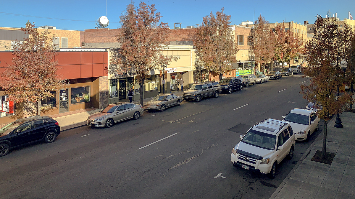 The Klamath Falls Downtown Association asks our community to Shop Small, Saturday November 24th. (Image: Brian Gailey)