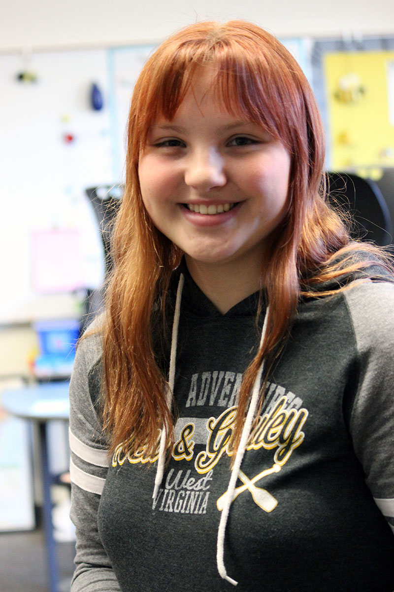 Henley High School senior Caitlin Hulsey is starting Kindness Clubs at county elementary schools.