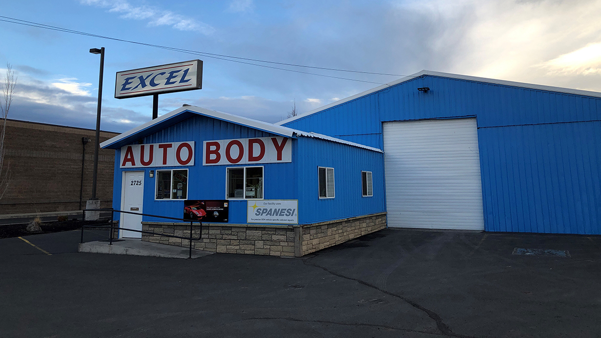 Excel Auto Body in Klamath Falls is now I-Car Gold Class. A ranking only 10% of collision repair businesses currently achieve. Photo, Roarke Ponce.