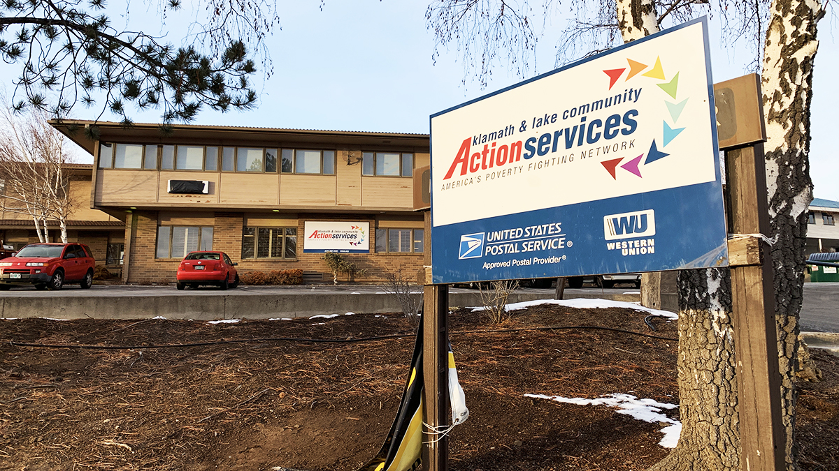 The postal substation located in KLCAS closed today, citing declining revenue as the reason for the closure. Other KLCAS services are not affected. February 8, 2019 (Image by, Brian Gailey / Klamath Falls News)