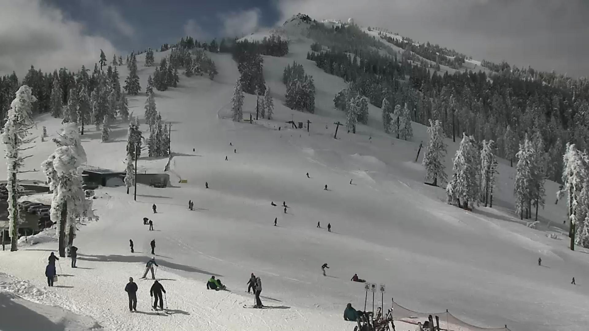 Lodge Camera, Mount Ashland. March 8, 2019