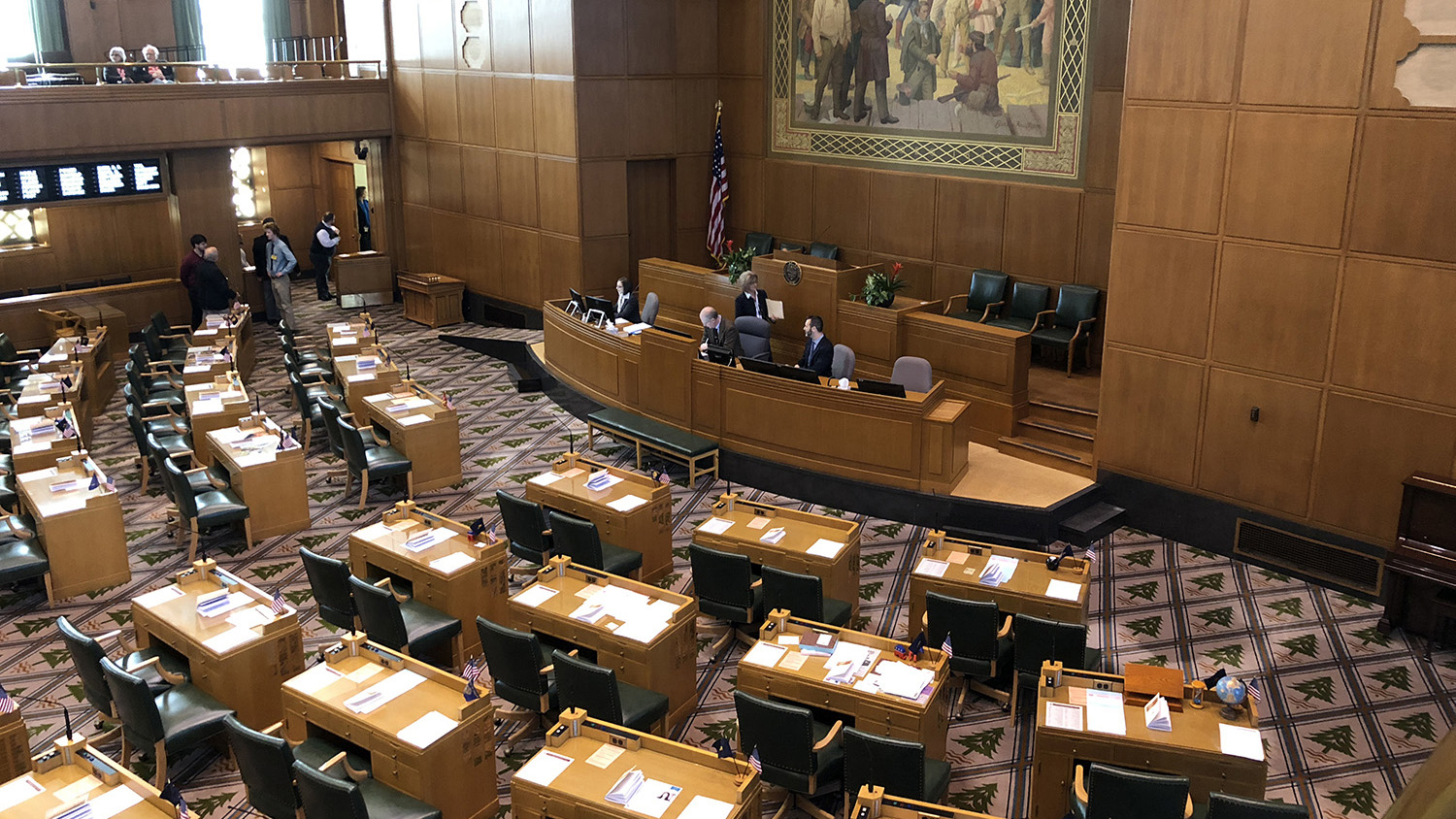 File Photo, Oregon House Chamber