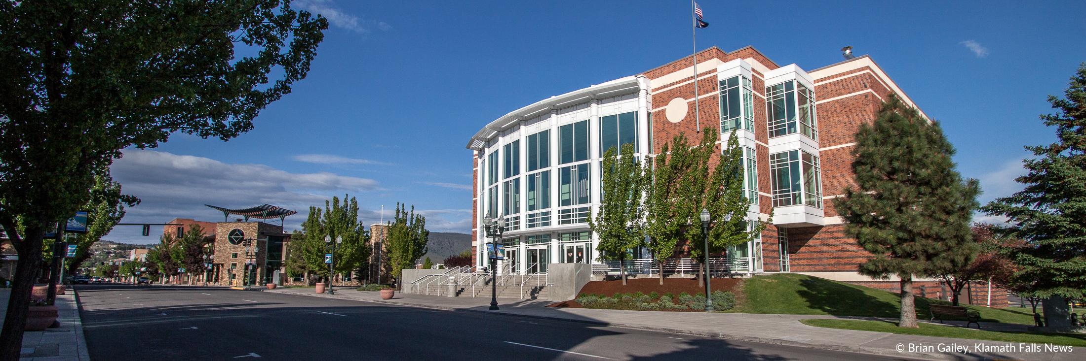 Main Street, Klamath Falls. (File Photo, Klamath Falls News)