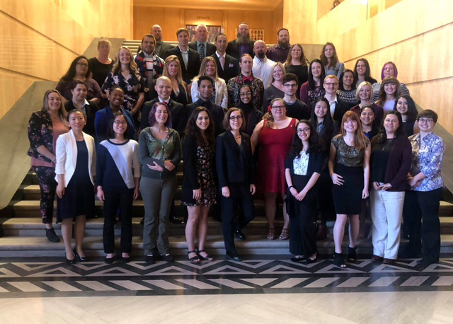 49 Students were recognized by Oregon Governor Kate Brown in April for thier achievements in community college. Submitted photo.