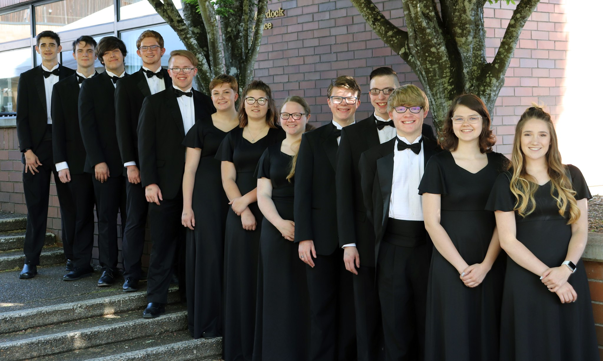 Class of 2019 Seniors of the Mazama High School Symphonic Band. Submitted photo