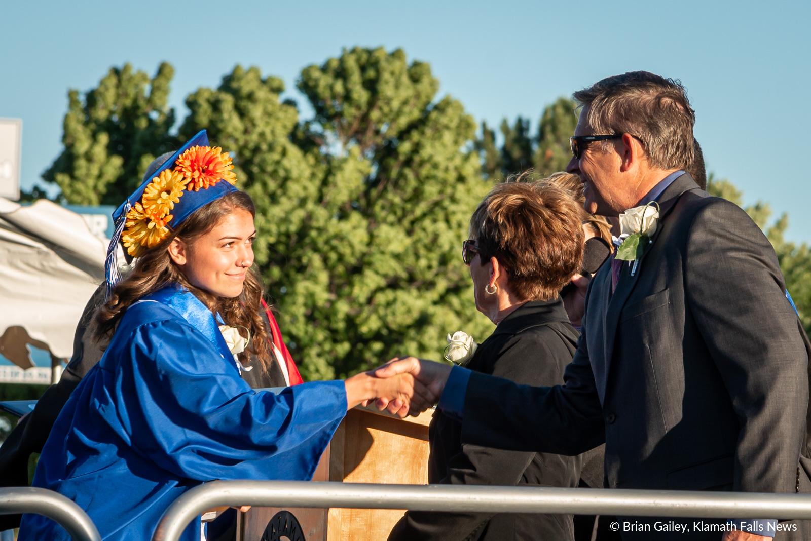 Mazama High School Graduation, 2019 Image Klamath Falls News
