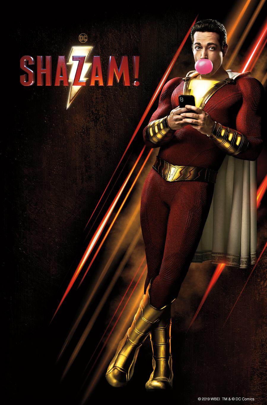 August 16, Shazam!