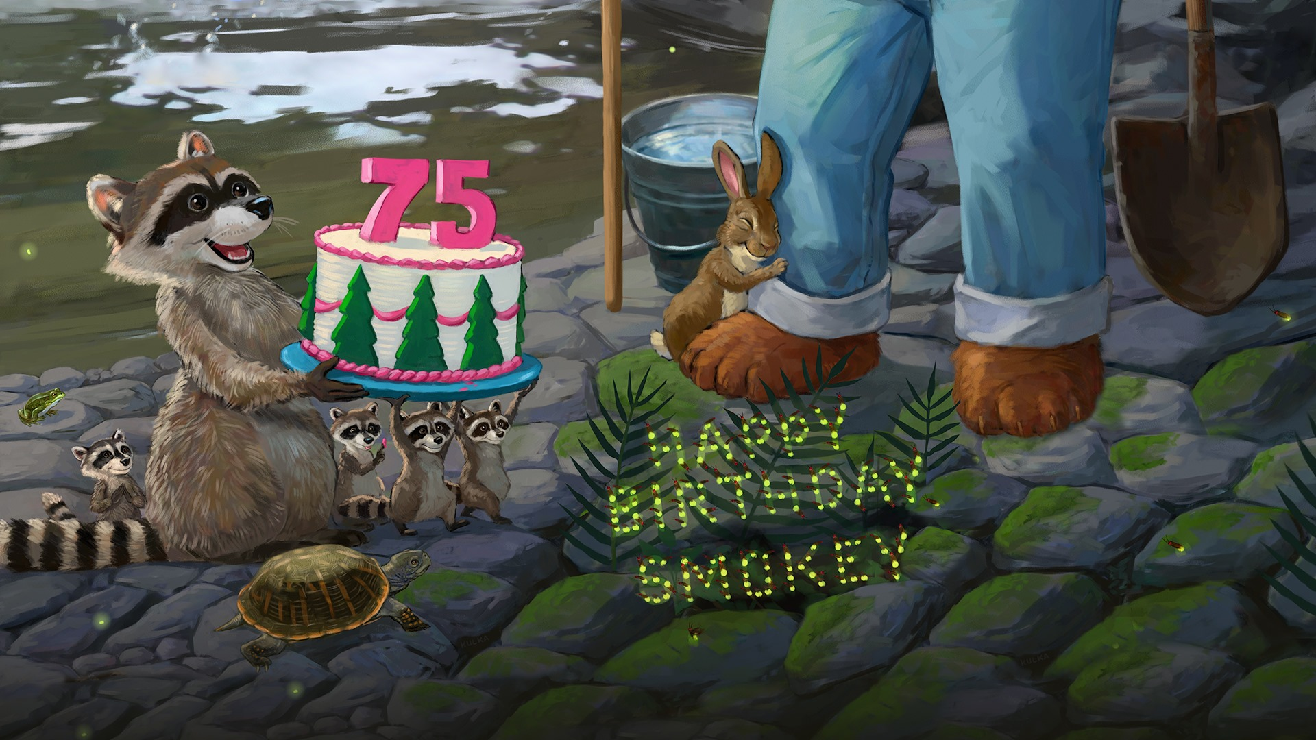 Happy Birthday Smokey (Image:  Smokey Bear Facebook )