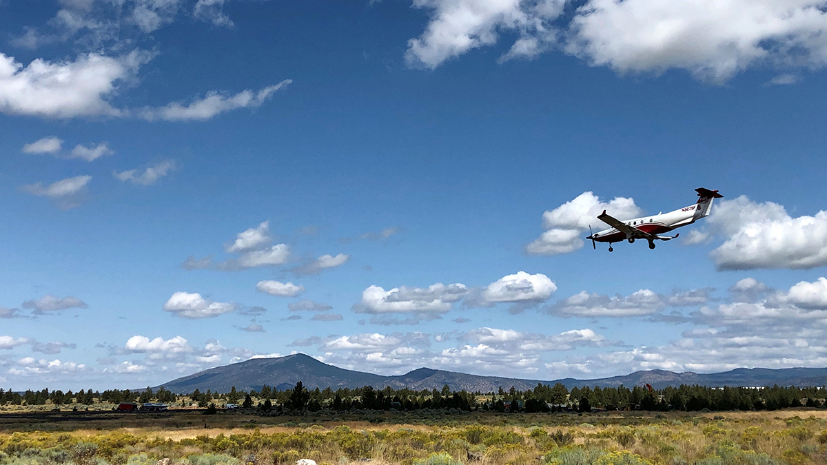 Oregon Department of Forestry, mulit mission aircraft. (Submitted photo)